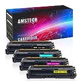 Amstech 4 Packs Kompatibel Samsung CLT-K506L CLT-506L CLT-C506L CLP-680ND CLP-680DW für Samsung K506L 506L CLT-C506L C506L CLT-M506L CLT-Y506L 506L für Samsung CLP 680 680DW CLX-6260 CLX 6260FD 6260FW 6260FR CLX-6260ND Toner Drucker