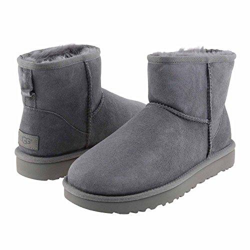ugg-australia-classic-mini-ii-boots-women-grey-40