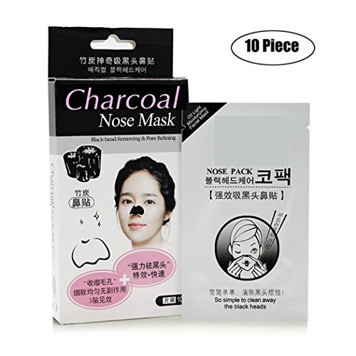 ealine-charcoal-nose-pore-strips-pack-of-6-deep-cleansing-removes-blackheads-unclogs-pores-quick-eas