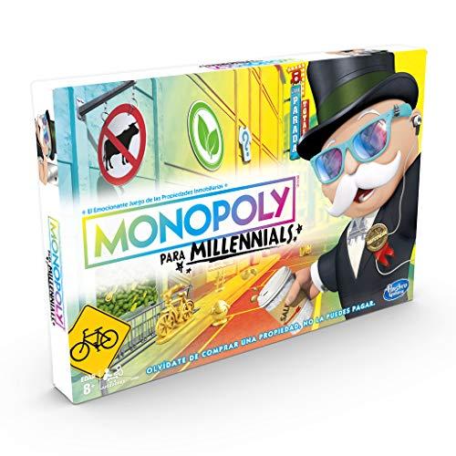 Monopoly- Millenials Versión Española Hasbro E4989105