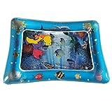 No Prodotti per la casa 3 PCS Cute Baby Gonfiabile Acquario d'Acqua Giocando Cuscino Prostrato del Giocattolo del Rilievo Tappeto Blu 60 * 50cm