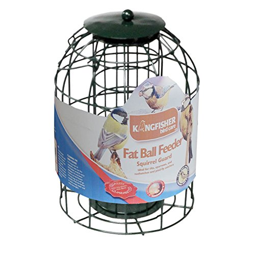 Kingfisher Fat Ball Feeder with Squirrel Guard Test