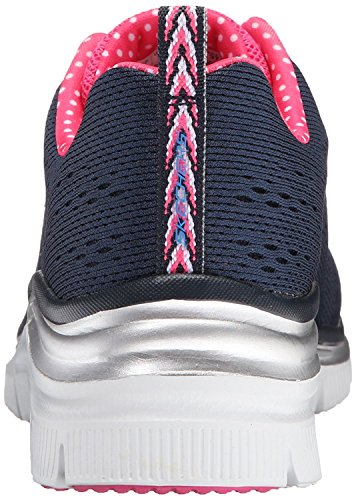 Navy Pink Basses Femme Fashion Baskets Piece Fit Statement Skechers qcfwFx0gPy