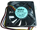 Generic 7cm d07r-12t3u 12V 0.29A 4Cable ventilador de la CPU