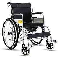 Silla de ruedas Tubería de Acero Gruesa, Vespa discapacitada Mayor, Plegable, función del