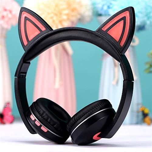 Bluetooth Headset Anime Cartoon Kopfhörer Drahtloses Bluetooth Headset@Pink Anime-headset