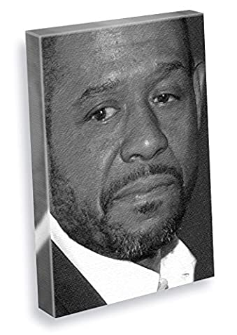 FOREST WHITAKER - Canvas Print (A5 - Signed by the Artist) #js002