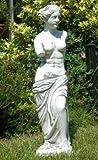 Figur Venus von Milo antik grau aus frostsicherem Beton
