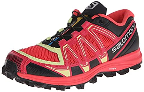 Salomon Fellraiser, Trail femme - Rose - Pink (Papaya-B/Lotus Pink/Black) -Taille : 37 1/3 EU