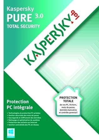 Kaspersky PURE 3.0 - Monoposte - 1 an [Téléchargement]