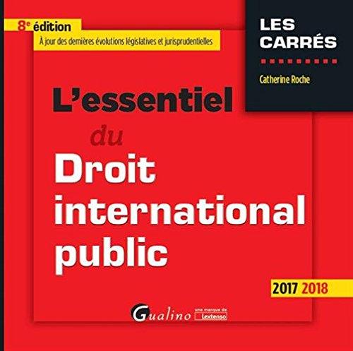 L'essentiel du droit international public : 8ème édition