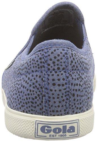 Gola - Azalea Denim Print, Scarpe da ginnastica Donna Blu (Blau (Blue/Dot))