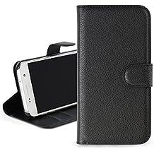 Noir Cuir Premium Portefeuille Étui Slim Housse Couverture de Protection Pour Samsung Galaxy A3 6 (2016) A310F