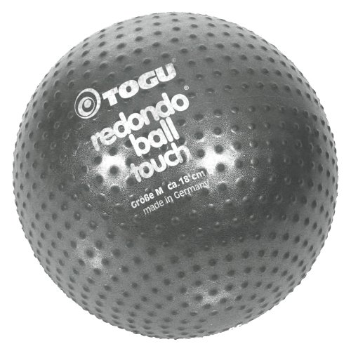 TOGU Redondo Ball Touch 18 cm Gymnastikball Pilatesball, anthrazit