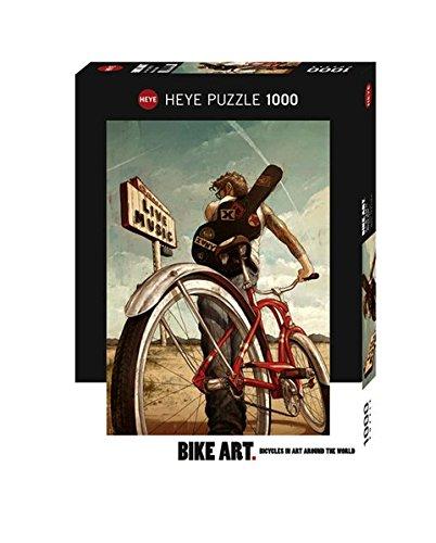 Heye 29813 Music Ride Standard 1000 Teile, Bike Art, Green
