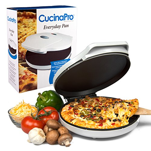 CucinaPro Pizza Maker and Everyday Baker���1442, heats and Reheats in less than 2�Minutes, White by Cucinapro