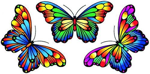 Fensterbild 3 Magic Butterflies
