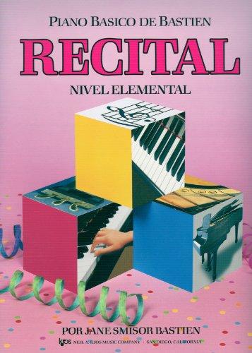 BASTIEN - Recital Nivel Elemental para Piano por BASTIEN