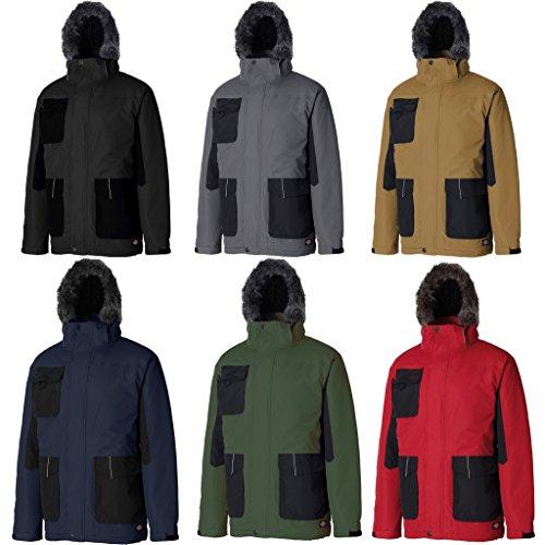 Dickies Bicolore Parka Jacket, Impermeabile da donna