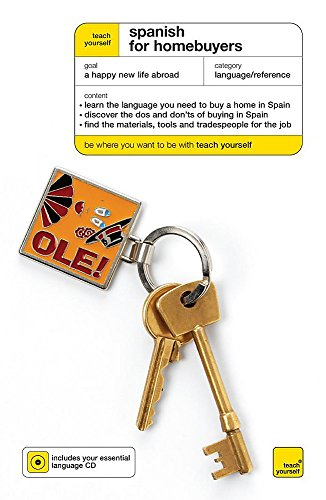 Teach Yourself Spanish For Homebuyers