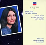 Sylvia Sass-the Decca Recitals [Import allemand]