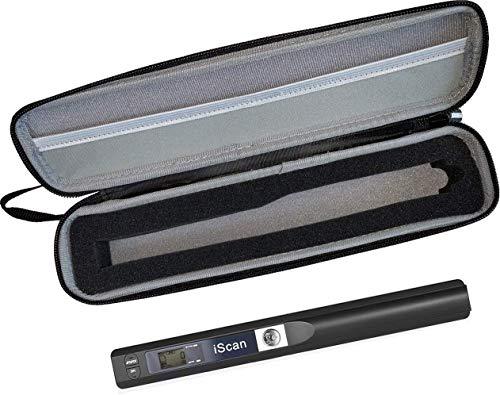 Portabler Scanner inklusive Hartschalentasche, tragbarer Standalone-Handscanner bis 900 DPI von JOURIST