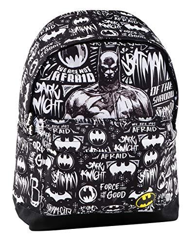 Graffiti Batman Mochila Escolar