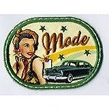 Parche termoadhesivo vintage, motivo Pin up, Mode.