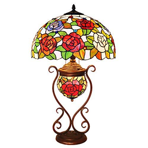Rose warm Hochzeitszimmer neue Haus Dekoration Tisch Lampe Café Western Restaurant Shop Dekoration Lampe Lampe (Western-tisch-lampen)