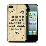 Stuff4 Coque de Coque pour Apple iPhone 4/4S / Happiness/Darkest Times Design/École...