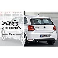 Audi DNA   DNA   coole Aufkleber   Auto Aufkleber   Tuning   Decal