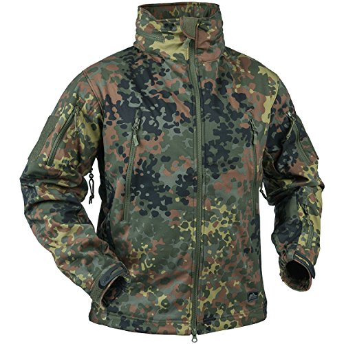 Helikon Gunfighter Soft Shell Chaqueta Flecktarn
