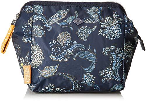Oilily Damen Vivid Washbag Mhz 3 Taschenorganizer, Blau (Dark Blue), 12x22x22 cm