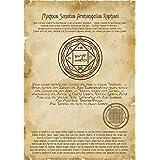 Unique Printing Enochiano Grimoire Sigillum Arcángel Rafael