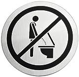 Blomus 68146 Türschild Bitte Setzen Signo