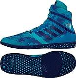 adidas Impact Wrestling Schuh, Blau - türkis (Turquoise Camo) - Größe: 12.5 D(M) US