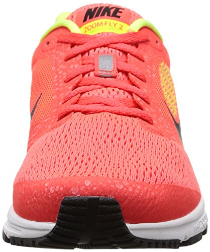 Nike  NIKE AIR ZOOM FLY 2, chaussures de sport homme Bright Crimson/Black/Volt/Wht