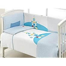 LaNovenaNube - Protector Cuna SWEET DREAM B68 - Color Azul