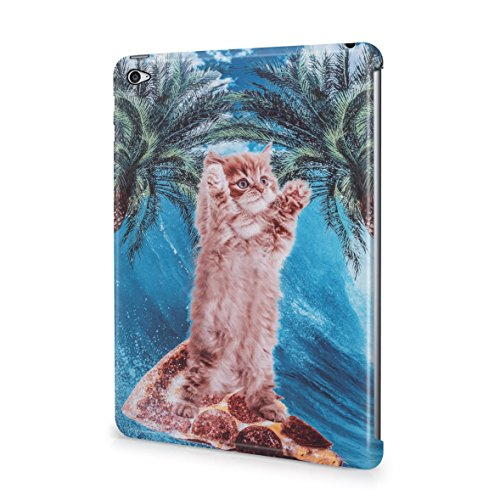 trippy-cute-kitten-surfing-waves-on-pizza-aloha-hawaii-plastic-snap-on-protective-case-cover-for-ipa
