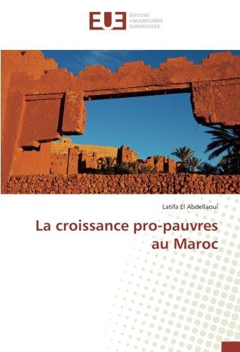 La croissance pro-pauvres au Maroc par Latifa El Abdellaoui