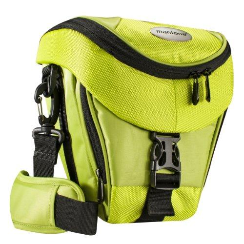 asche hellgrün (Universaltasche inkl. Schnellzugriff, Staubschutz, Tragegurt und Zubehörfach, geeignet für DSLR- und Systemkameras) ()