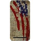 Casotec Vintage American Flag Design Hard Back Case Cover for Asus Zenfone Selfie ZD551KL