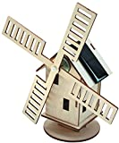 """Sol-Expert - Mulino a vento solare - Kit di legno """"Olanda"""""""