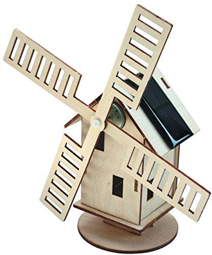 Preisvergleich Produktbild Solar-Holzwindmühle