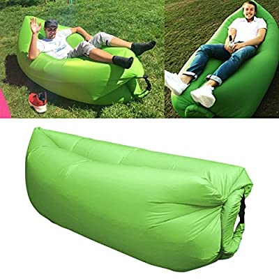 Inflatable Air Bed Air Sleep Sofa Lounge Portable Air Beach Sofa Sleeping Bag Sofa Beds