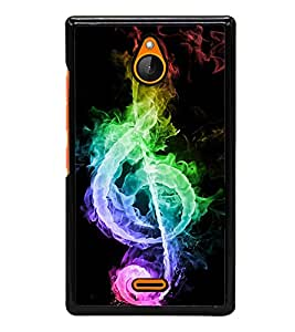Colourful Music Sign 2D Hard Polycarbonate Designer Back Case Cover for Nokia X2 Dual SIM :: Nokia X2 RM-1013 :: Nokia X2DS