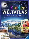 Ravensburger Kinder-Weltatlas: Länder, Menschen, Tiere und Rekorde. Mit allen Flaggen der Welt ( 1. August 2014 )
