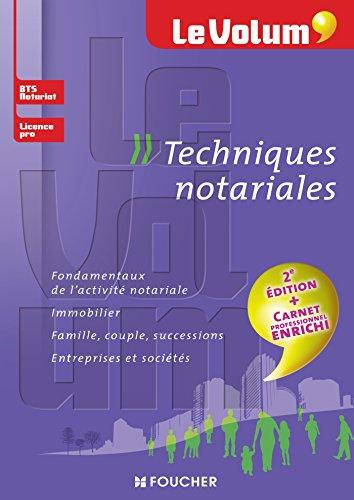 Notariat - Le Volum' - BTS, Licence Pro Notariat