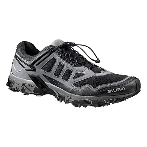 SALEWA Ultra Train, Scarpe da trekking Uomo, Nero (Asphalt/black 0677), 42 EU