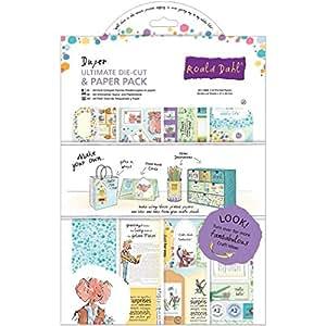 Roald Dahl Lot de 48 accessoires de découpe Thème Roald Dahl Couleurs assorties